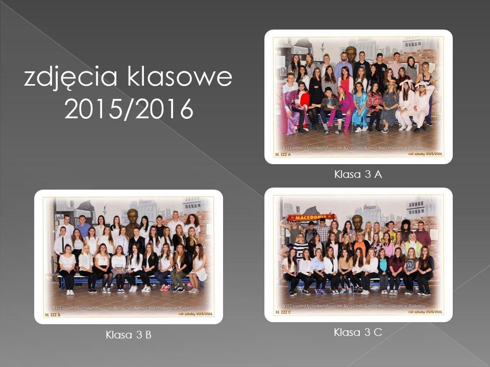 zdjęcia klasowe 2015/2016