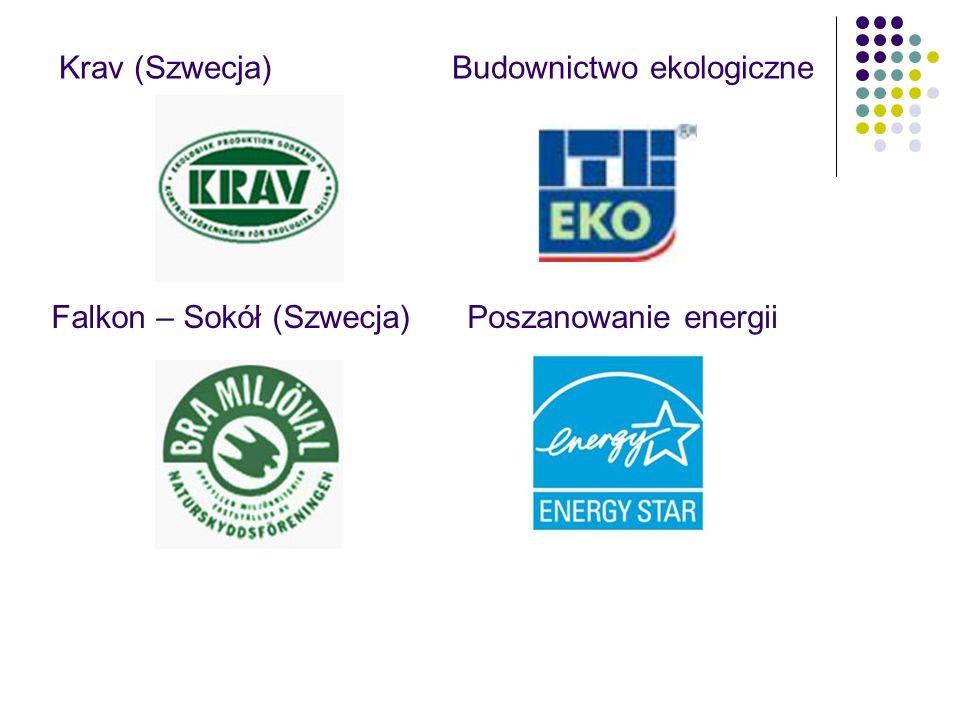 Krav (Szwecja) Falkon – Sokół (Szwecja)Poszanowanie energii Budownictwo ekologiczne