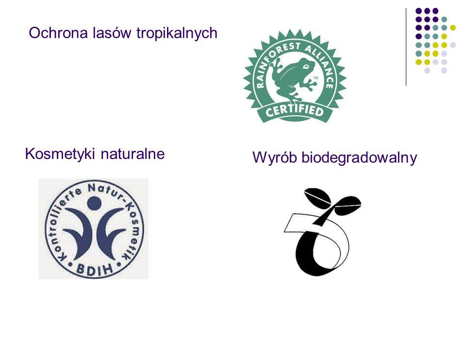 Ochrona lasów tropikalnych Kosmetyki naturalne Wyrób biodegradowalny