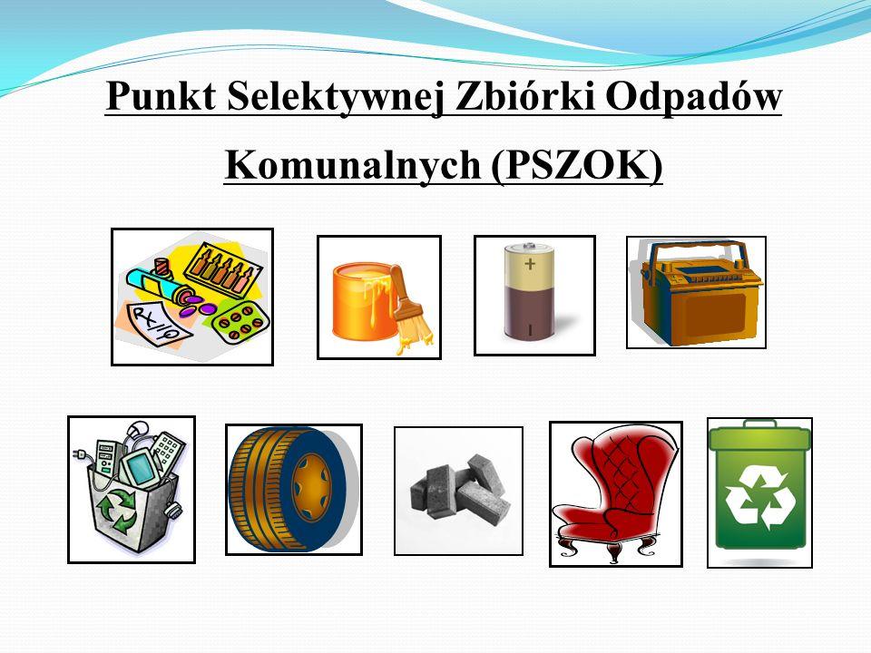 Punkt Selektywnej Zbiórki Odpadów Komunalnych (PSZOK)