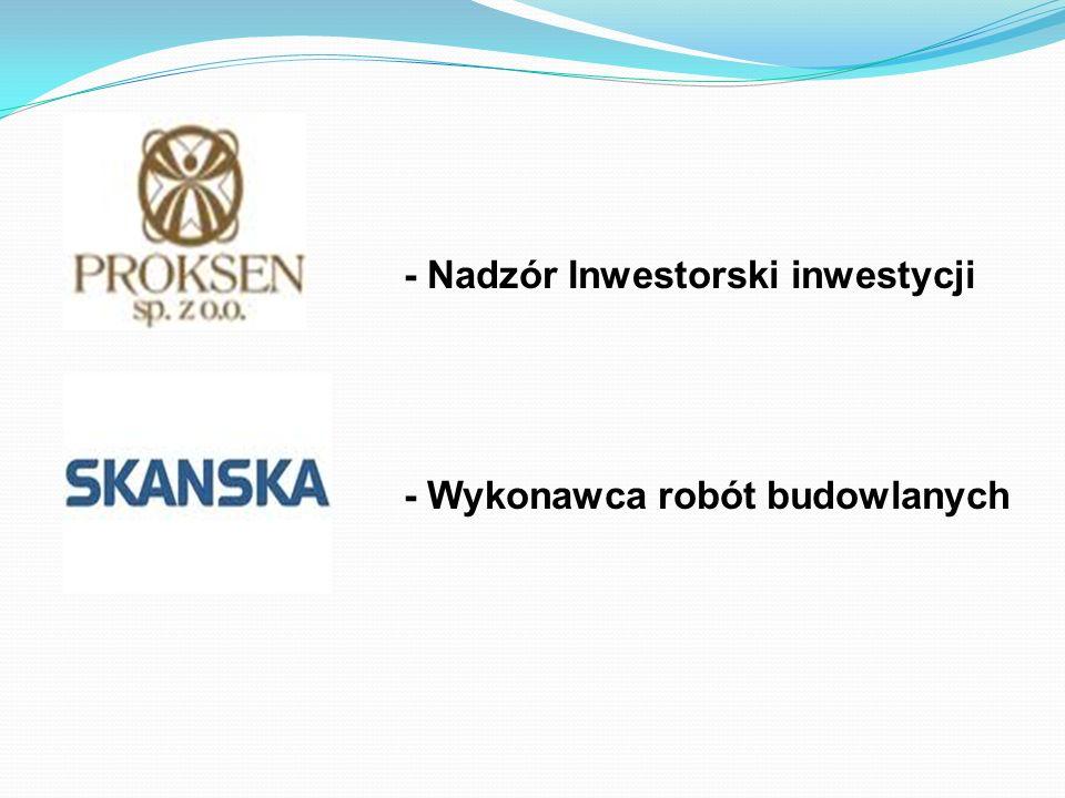 - Nadzór Inwestorski inwestycji - Wykonawca robót budowlanych
