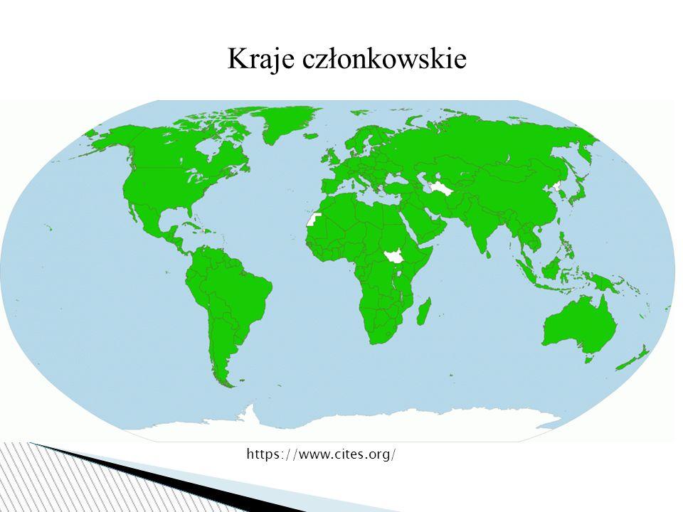 Kraje członkowskie https://www.cites.org/