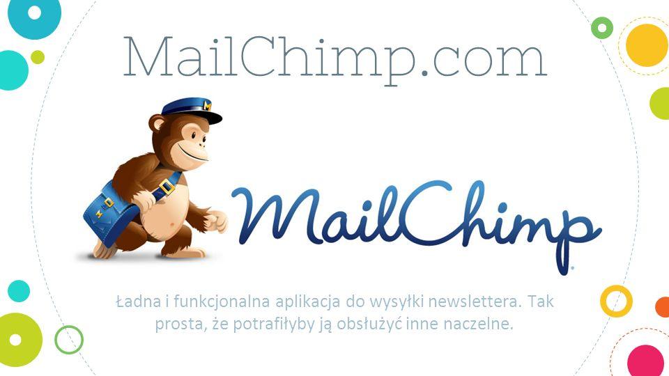 MailChimp.com Ładna i funkcjonalna aplikacja do wysyłki newslettera.