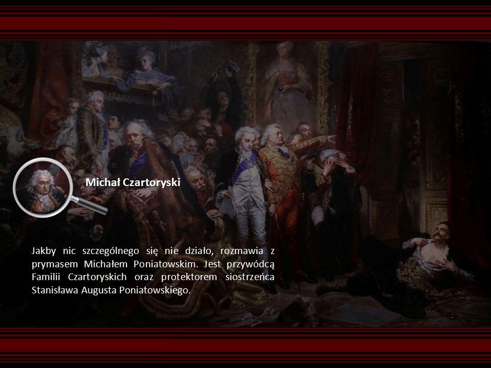 Michał Czartoryski Jakby nic szczególnego się nie działo, rozmawia z prymasem Michałem Poniatowskim.