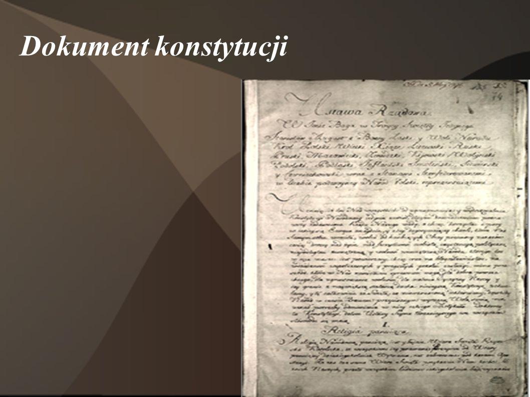 Dokument konstytucji
