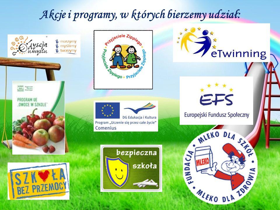 Akcje i programy, w których bierzemy udział: