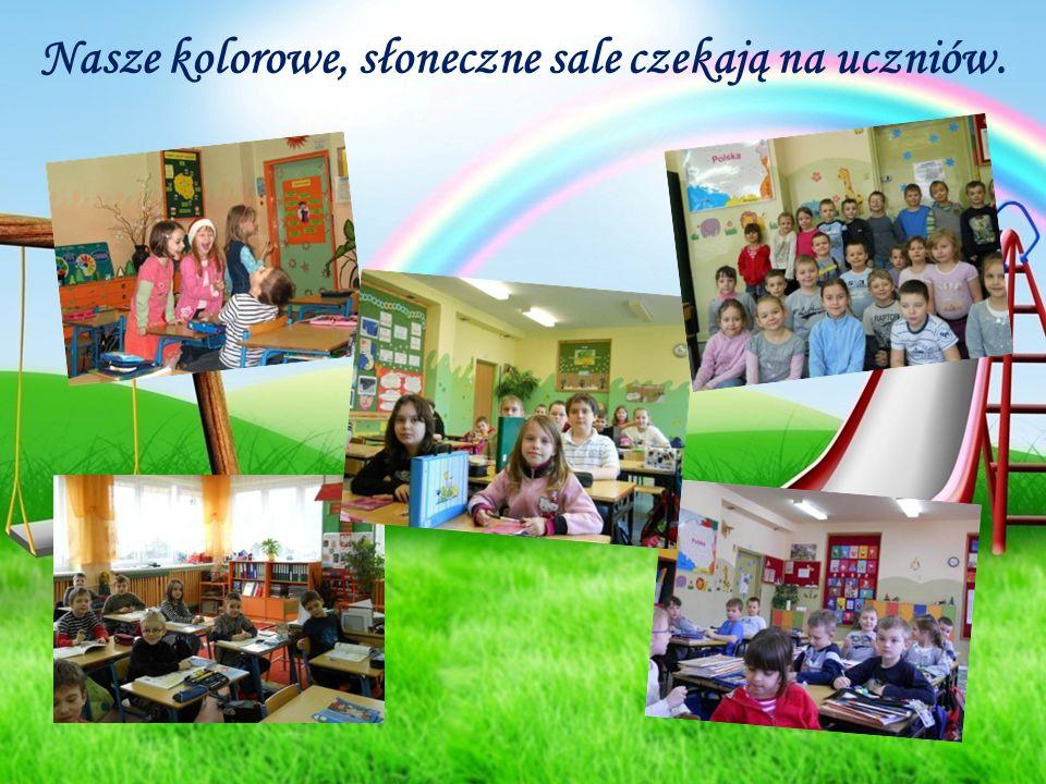 Nasze kolorowe, słoneczne sale czekają na uczniów.