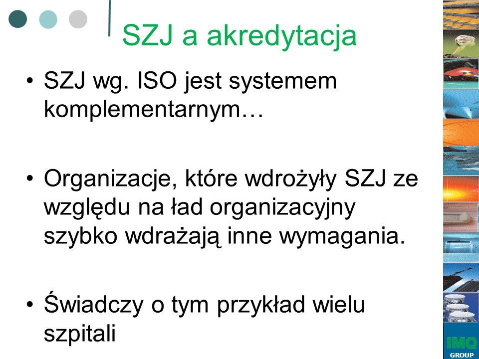 GROUP SZJ a akredytacja SZJ wg.