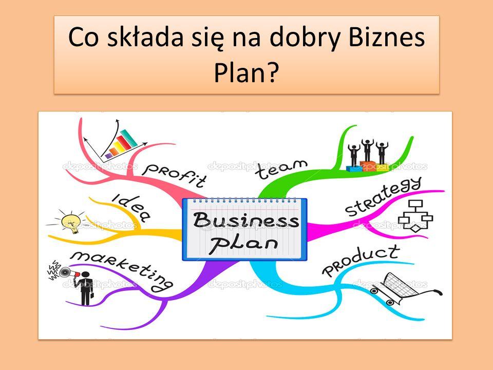 Co składa się na dobry Biznes Plan