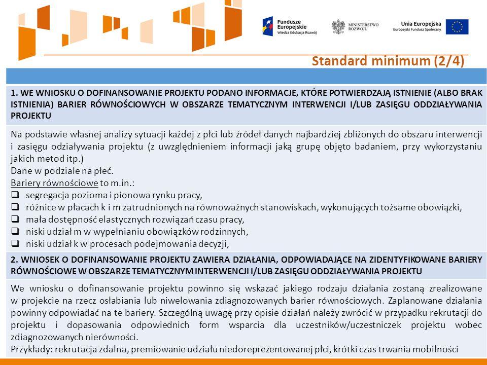 22 Standard minimum (2/4) 1.