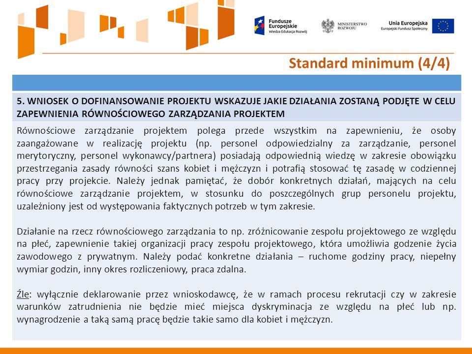 24 Standard minimum (4/4) 5.