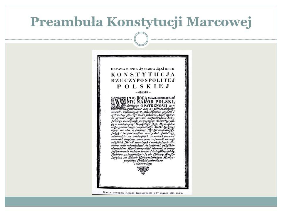 Preambuła Konstytucji Marcowej