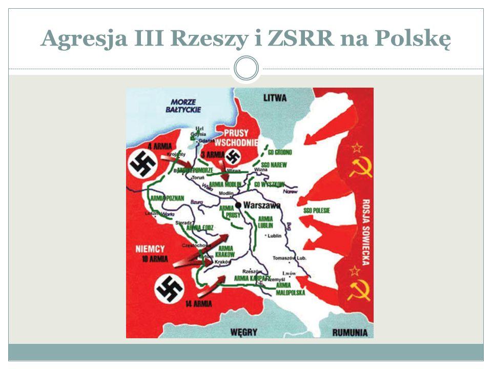 Agresja III Rzeszy i ZSRR na Polskę