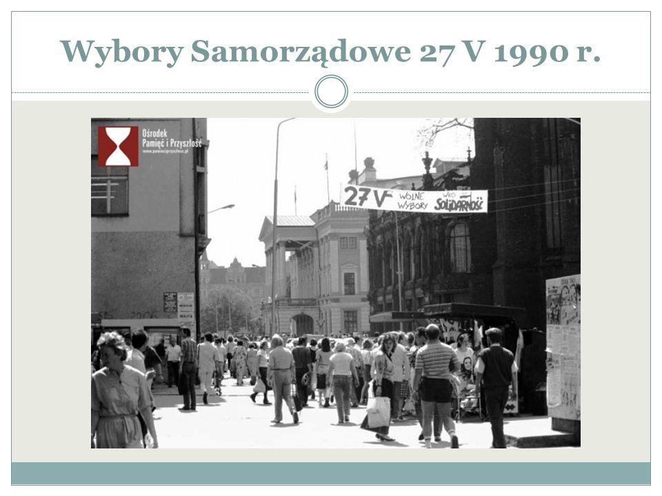 Wybory Samorządowe 27 V 1990 r.