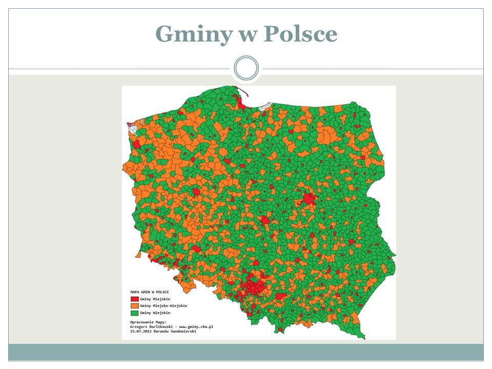 Gminy w Polsce