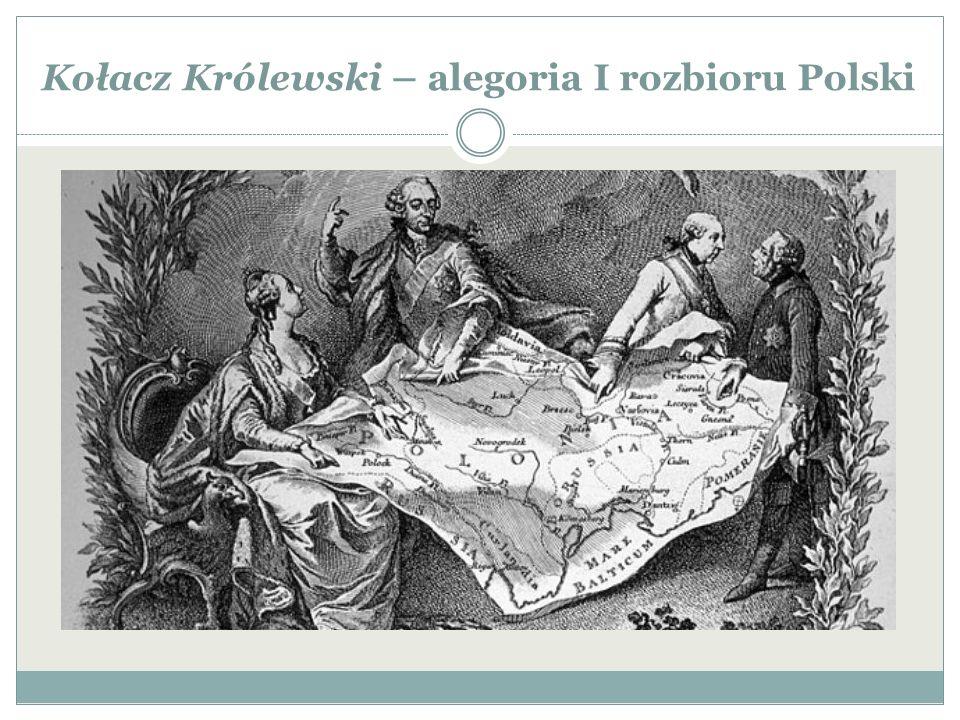 Kołacz Królewski – alegoria I rozbioru Polski