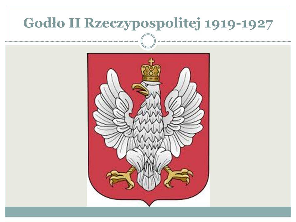 Godło II Rzeczypospolitej 1919-1927