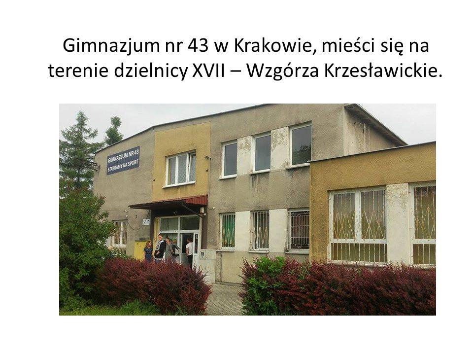 Gimnazjum nr 43 w Krakowie, mieści się na terenie dzielnicy XVII – Wzgórza Krzesławickie.
