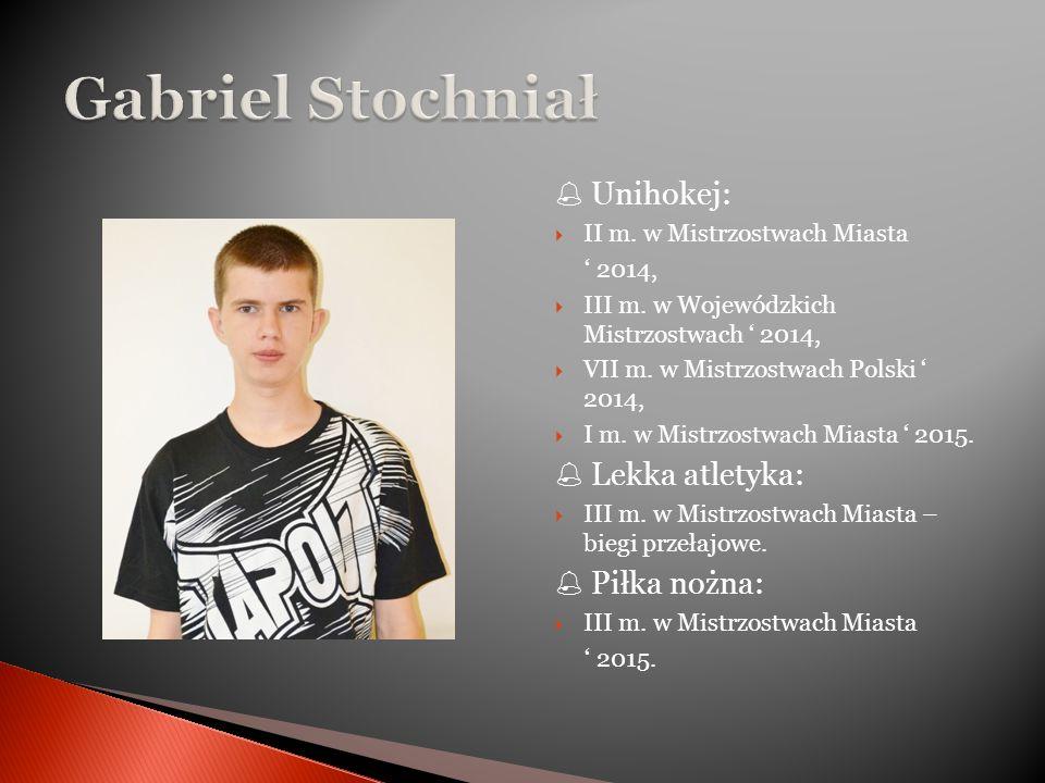  Unihokej:  II m. w Mistrzostwach Miasta ' 2014,  III m.