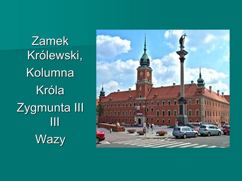 Zamek Królewski, KolumnaKróla Zygmunta III Wazy