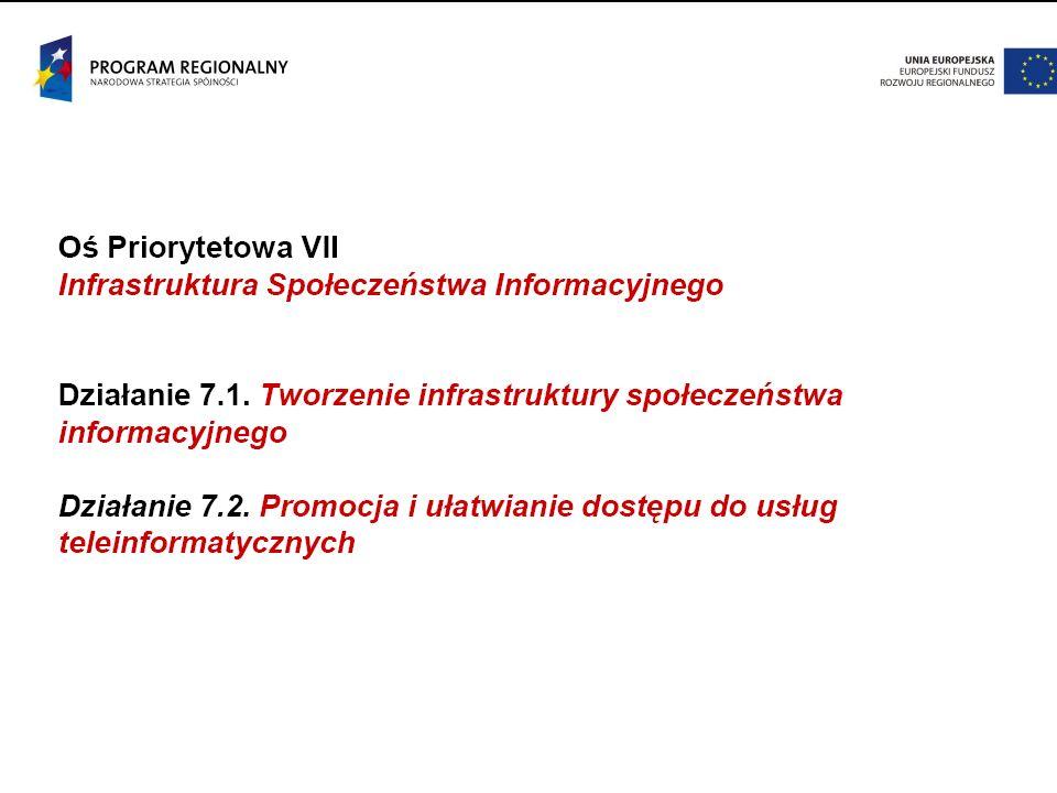 Strategia rozwoju społeczeństwa informacyjnego w Polsce do roku 2013  Obszar Państwo: