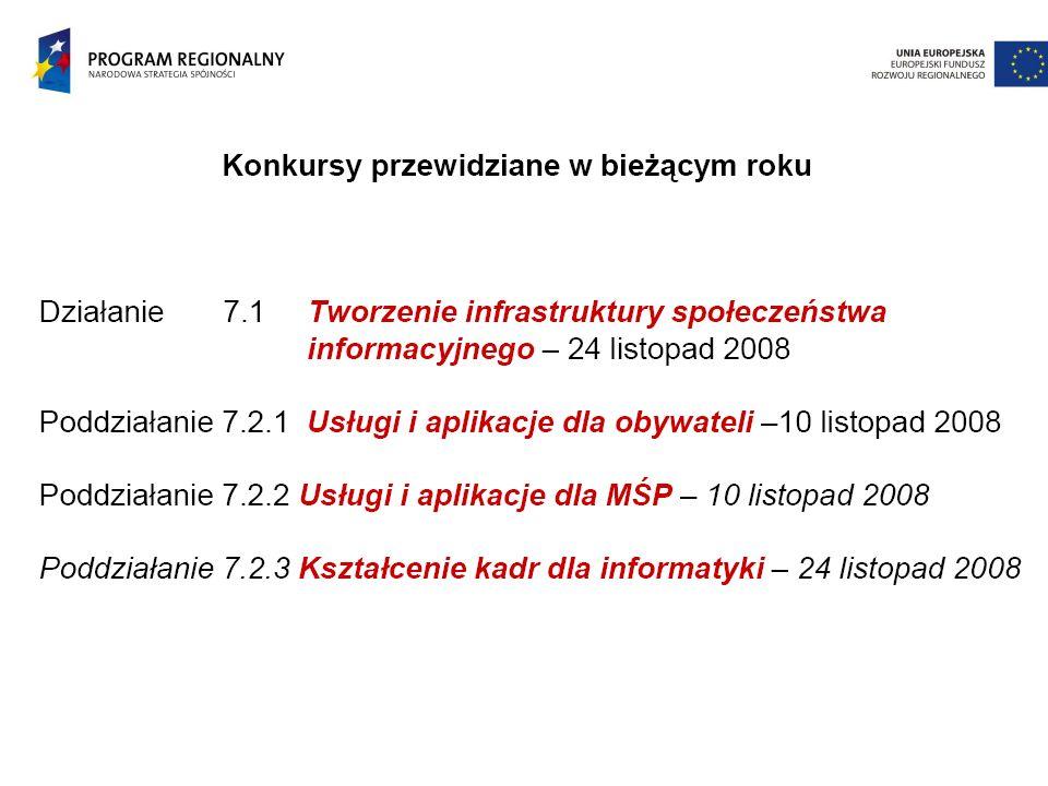 Konferencja Społeczeństwo Informacyjne Warmii i Mazur - kierunki rozwoju infrastruktury i e-usług w ramach Programów Operacyjnych współfinansowanych przez Unię Europejską na lata 2007-2013 Olsztyn, 02 października 2008 r.