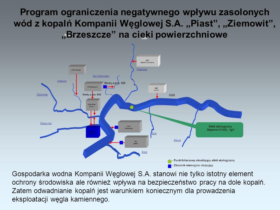 Biała Ruda Wisła Ruda Soła Skawa Pszczynka ZGE Sobieski-Jaworzno KWK Wesoła PG Silesia Gostynia Mleczna Pot.
