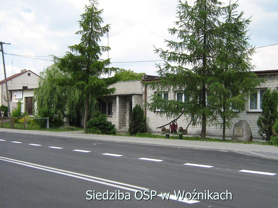Siedziba OSP w Woźnikach