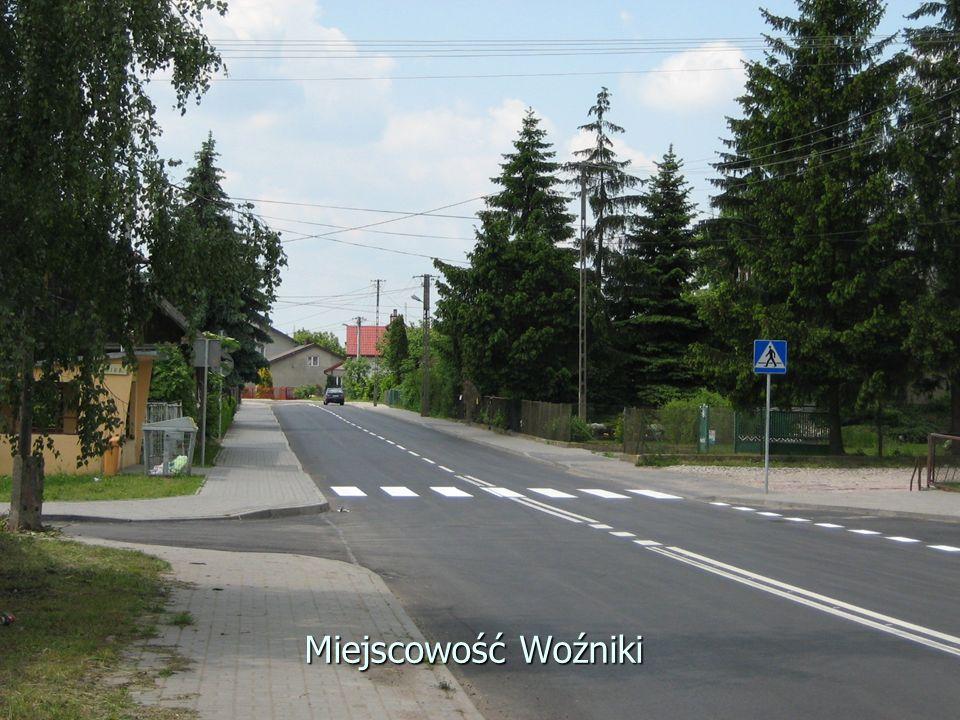 Miejscowość Woźniki