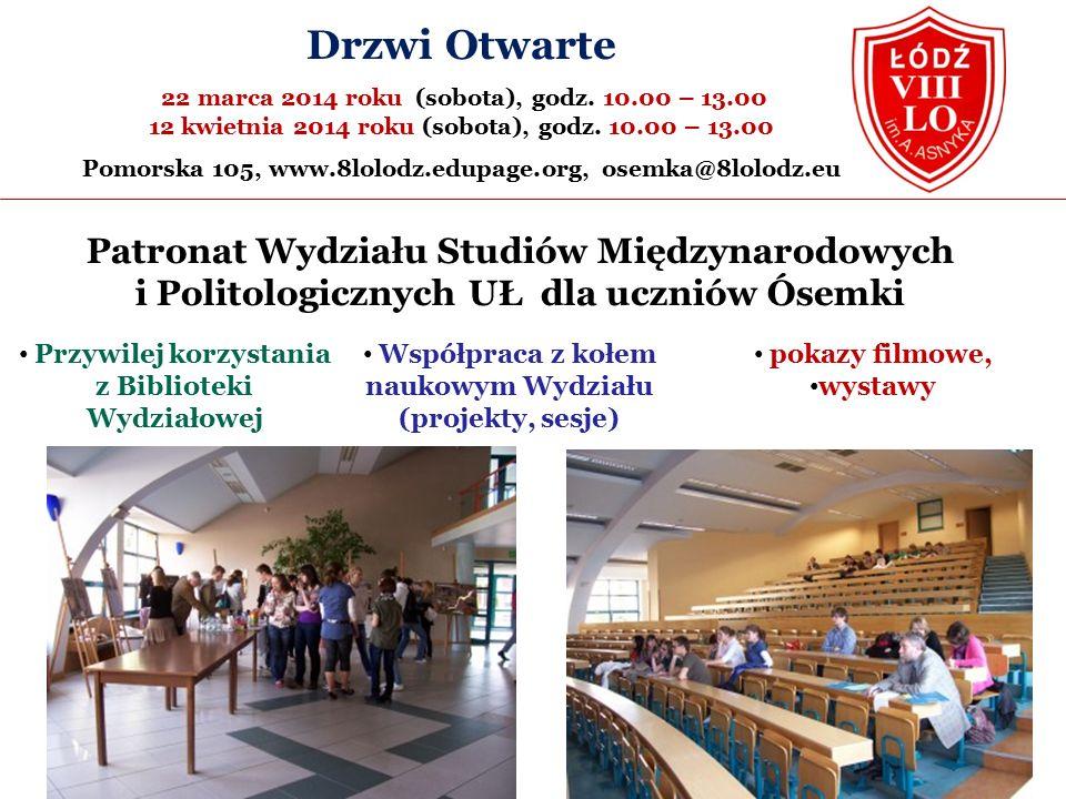 Dzień Języków Obcych Drzwi Otwarte 22 marca 2014 roku (sobota), godz.