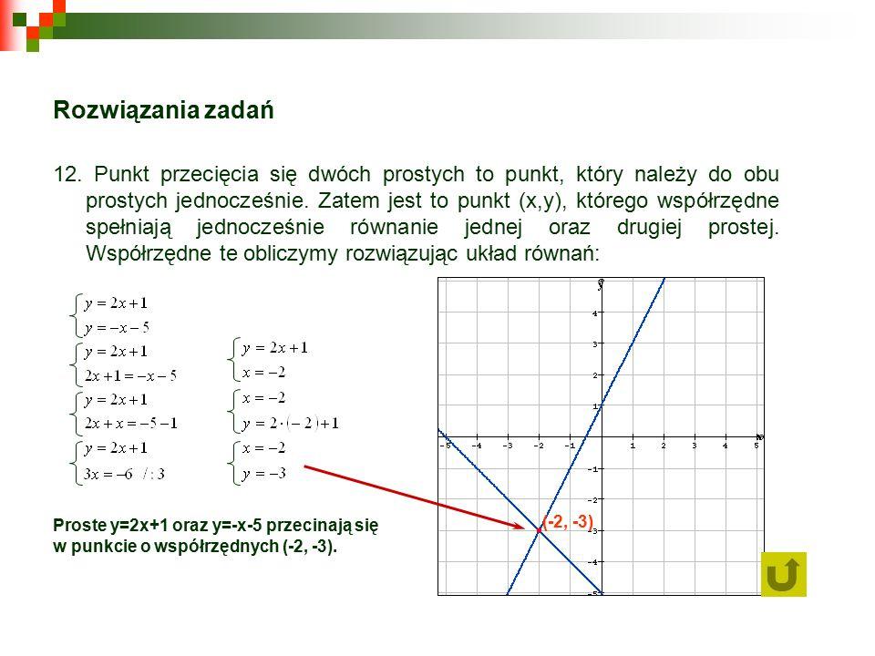 Rozwiązania zadań 12.