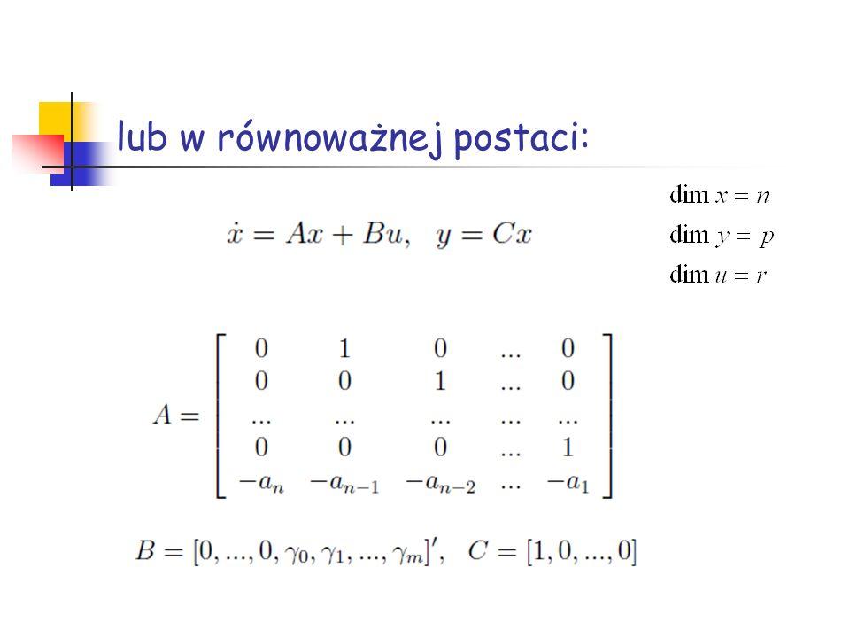 Zastosowanie do obiektów nieliniowych Obiekt nieliniowy IObiekt nieliniowy II (ramię robota) Charakterystyka statyczna Dane do symulacji: I II