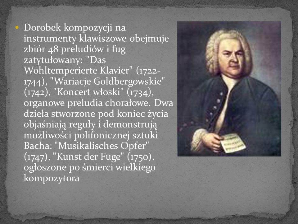 W 1707 r.Bach poślubił swoją daleką kuzynkę, Marię Barbarę.
