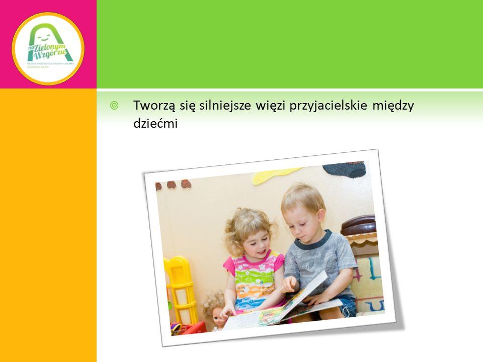  Dziecko bawiąc się uczy się życia w społeczeństwie:  Komunikowania się  Radzenia sobie w sytuacjach trudnych  Stawania się niezależnym  Kształtowania własnego JA