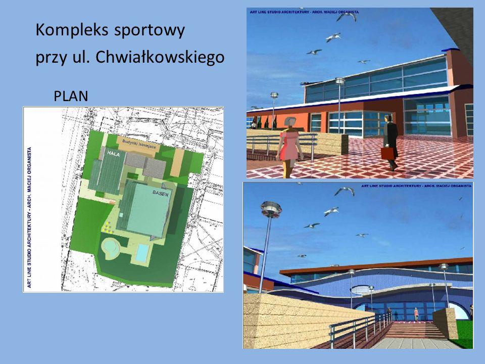 Kompleks sportowy przy ul. Chwiałkowskiego PLAN