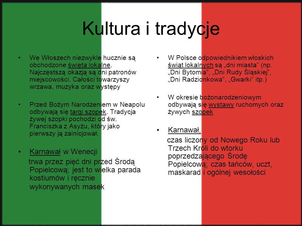 Włoska kultura w Katowicach Dobre wieści dla miłośników włoskiej kultury.