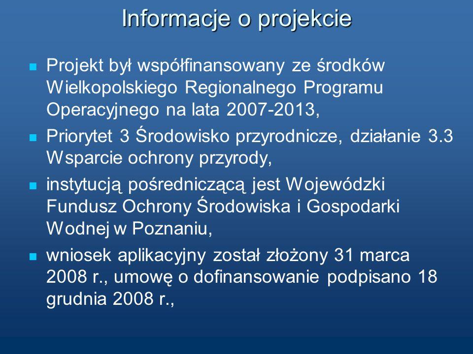 KONTROLA W PROJEKCIE WSPÓŁFINANSOWANYM ZE ŚRODKÓW WIELKOPOLSKIEGO REGIONALNEGO PROGRAMU OPERACYJNEGO NA LATA 2007-2013 Kampania informacyjno - edukacyjna dla mieszkańców Wielkopolski o zmianach klimatu na świecie i o zagrożeniach z tym zawiązanych