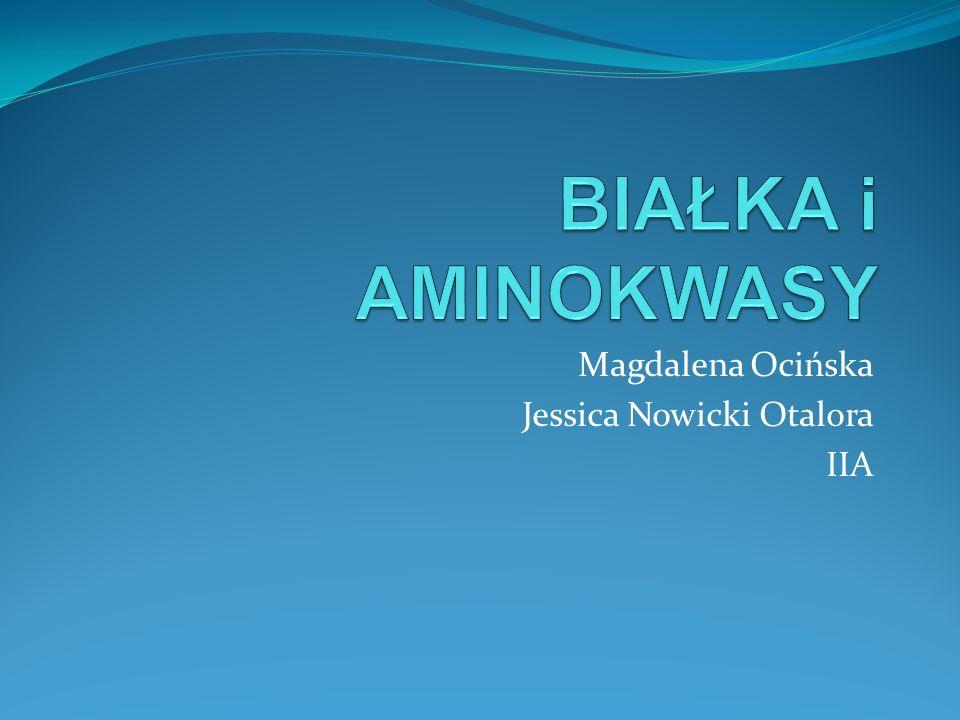 Magdalena Ocińska Jessica Nowicki Otalora IIA