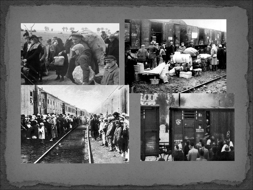 Miejsca docelowego bytowania ludności polskiej w Związku Radzieckim były zróżnicowane.