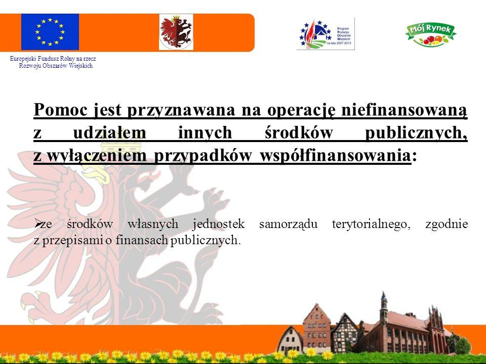 """Wniosek o przyznanie pomocy Aktualny formularz wniosku o przyznanie pomocy (W-1_321 wersja 7z) w ramach Działania 321 """"Podstawowe usługi dla gospodarki i ludności wiejskiej wraz z instrukcją wypełniania znajduję się na stronie internetowej www.mojregion.eu (Program Rozwoju Obszarów Wiejskich - zakładka Ważne dokumenty/Wnioski i instrukcje) www.mojregion.eu Europejski Fundusz Rolny na rzecz Rozwoju Obszarów Wiejskich"""