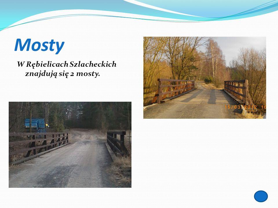 Mosty W Rębielicach Szlacheckich znajdują się 2 mosty.