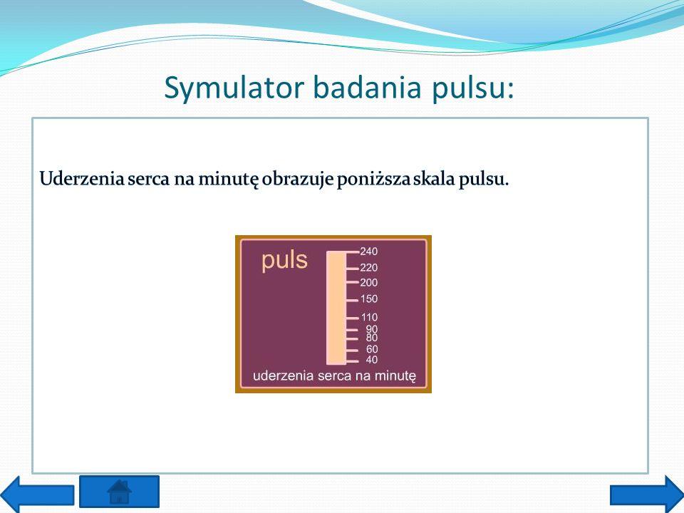 Symulator badania pulsu: