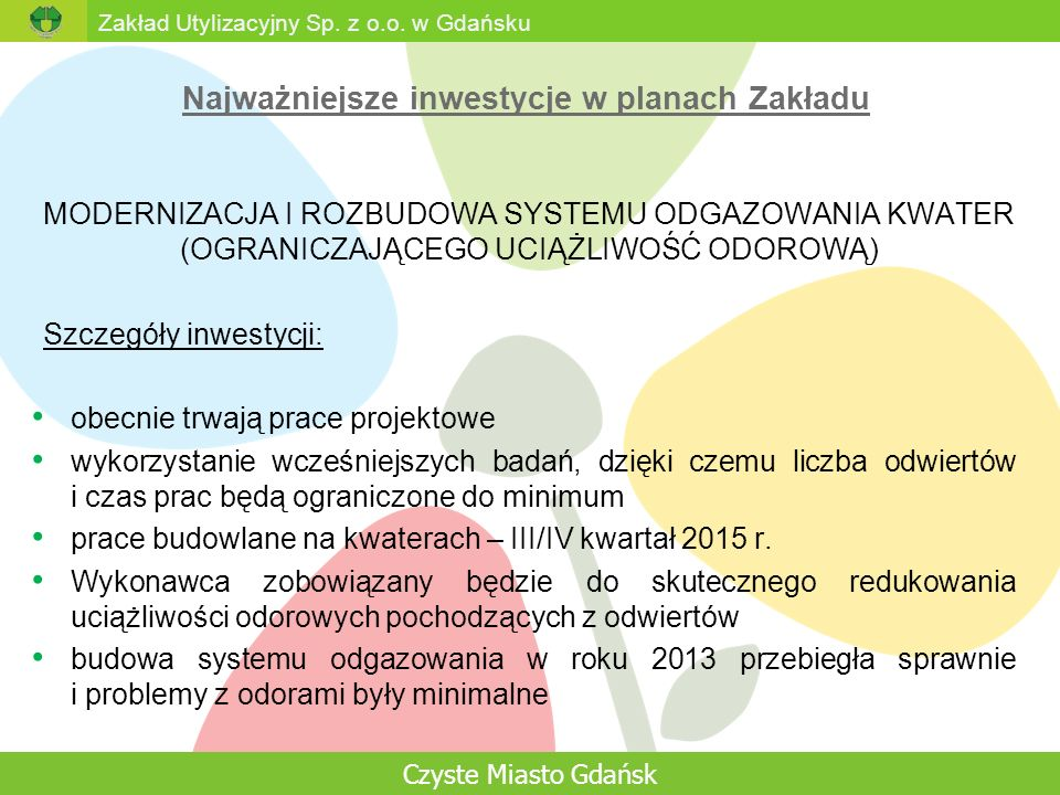 Zakład Utylizacyjny Sp. z o.o.