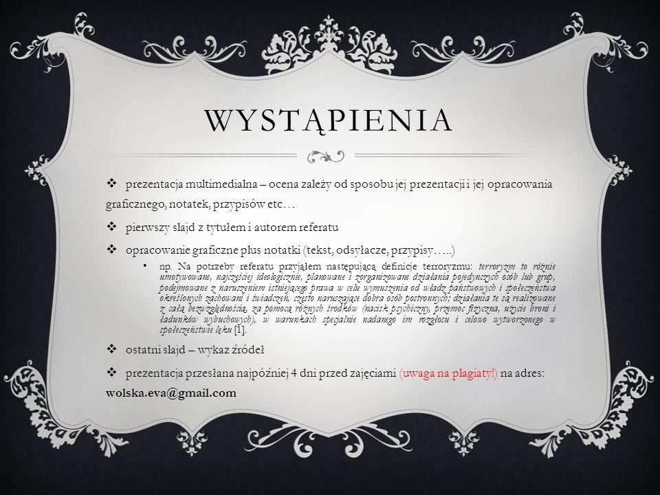 Lp.TREŚCI KSZTAŁCENIA REALIZOWANE W RAMACH ĆWICZEŃ C1 06.03.