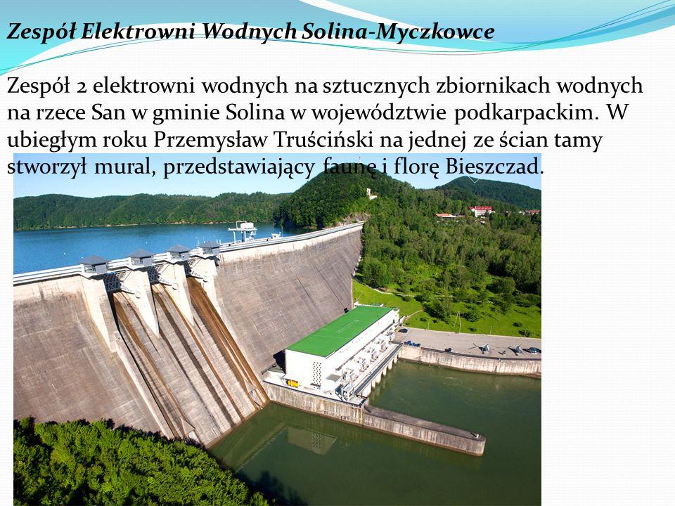 Zespół Elektrowni Wodnych Solina-Myczkowce Zespół 2 elektrowni wodnych na sztucznych zbiornikach wodnych na rzece San w gminie Solina w województwie p