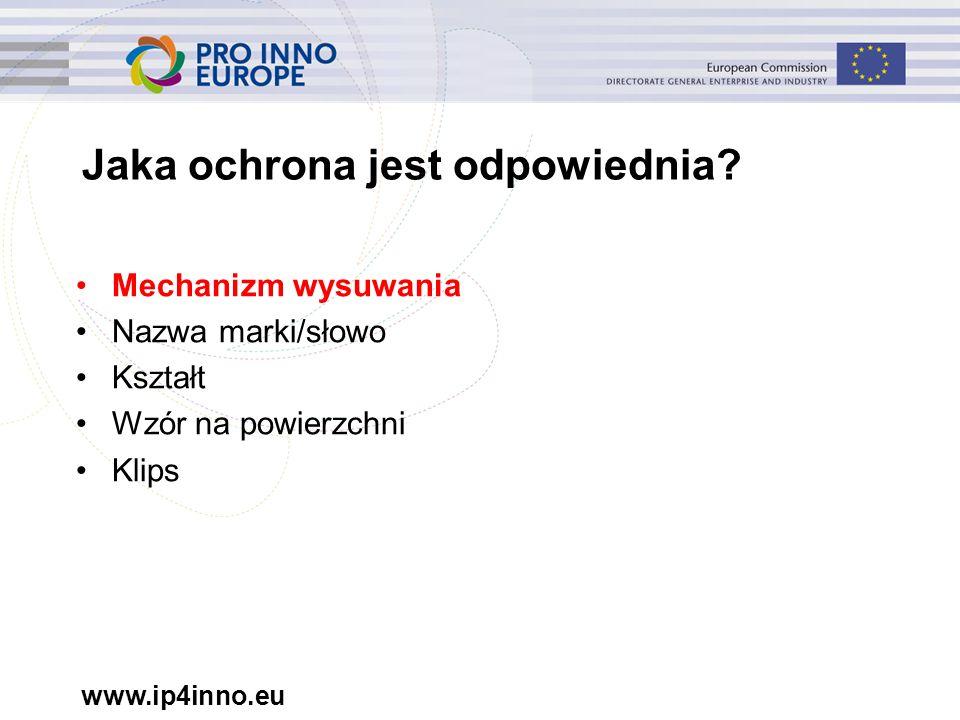 www.ip4inno.eu Jaka ochrona jest odpowiednia.