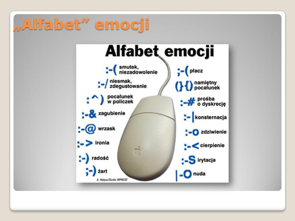 """Alfabet"" emocji"