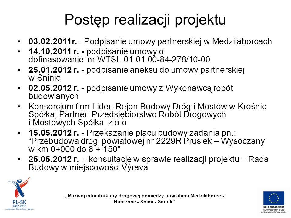 Postęp realizacji projektu 03.02.2011r.