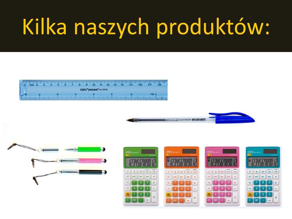 Kilka naszych produktów: