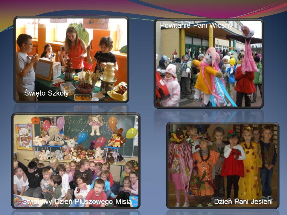 Światowy Dzień Pluszowego MisiaDzień Pani Jesieni Święto Szkoły Powitanie Pani Wiosny